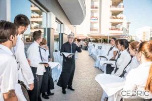 Ca Fran restaurante en Oliva - equipo humano