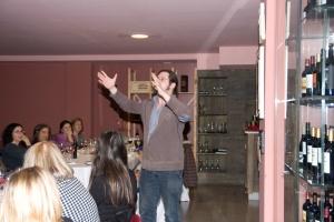 Josep Pedrals recitant